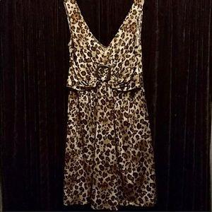 L/G Leopard Print Dress